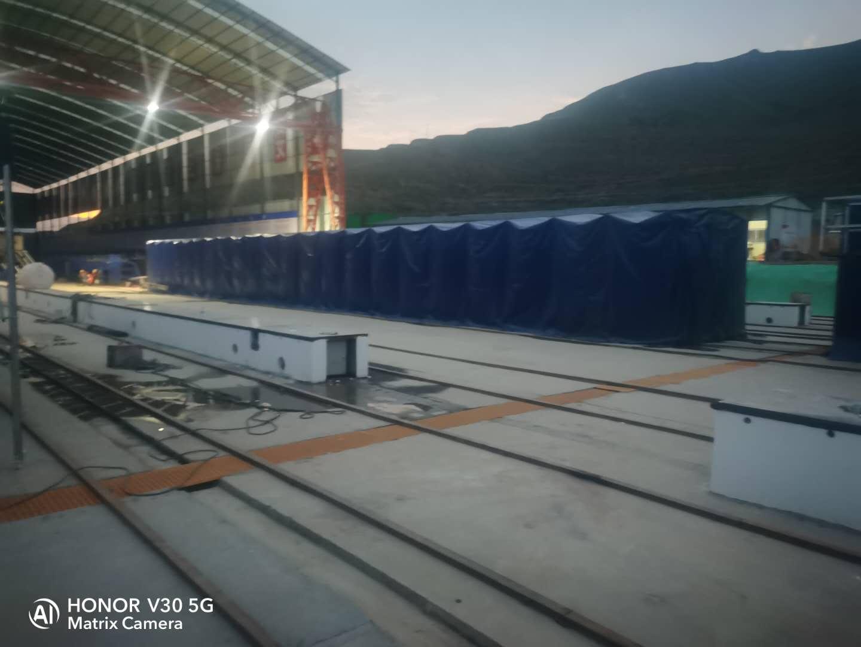 鑫盛泰廠家專業生產電動雨棚 懸空電動推拉篷使用方便安裝快捷
