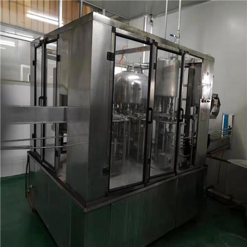 深圳二手灌装机厂家 二手12头三合一灌装机 价格便宜