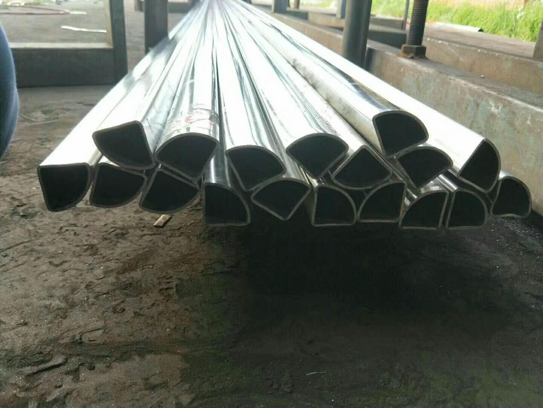 扇形鋼管廠家-40*40扇形管廠家