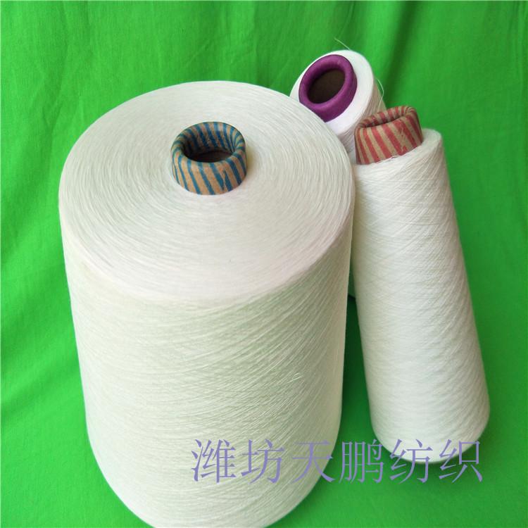 湖州渦流紡粘膠紗21支 人棉紗