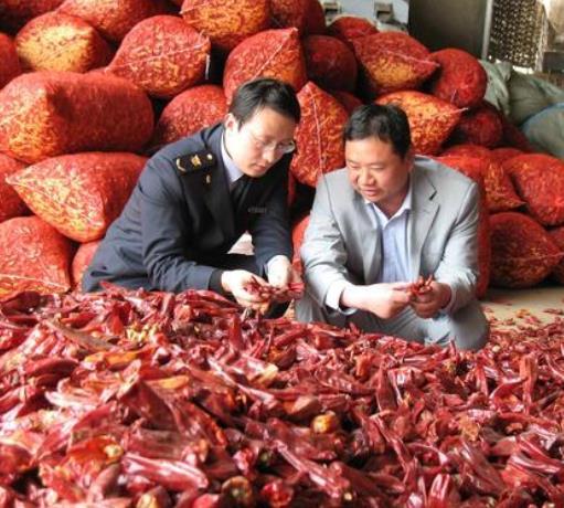 天津辣椒干进口流程