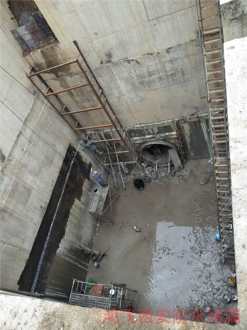 水电站渗漏水堵漏
