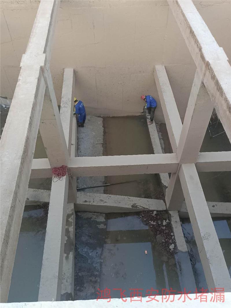 阿里水电站渗漏水堵漏