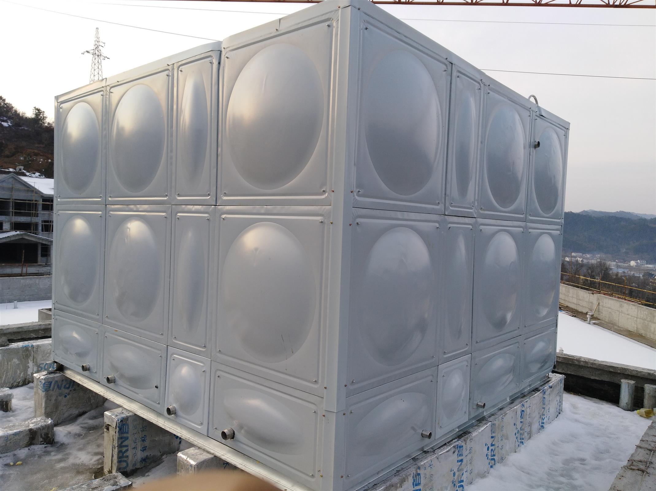不锈钢成品水箱 不锈刚水箱 耐高温