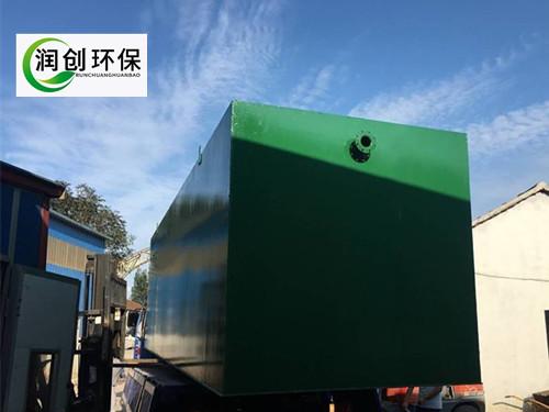 高速服务区生活污水处理装置过检测