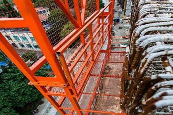 桥梁护栏施工台车