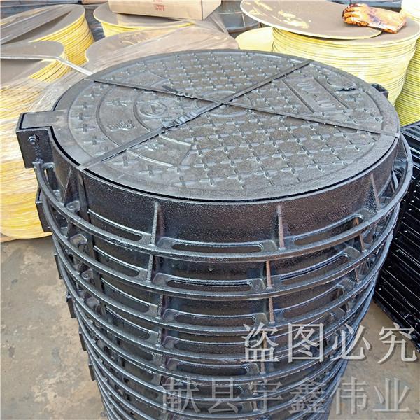 滄州球墨鑄鐵井蓋 雙層井蓋河北廠家