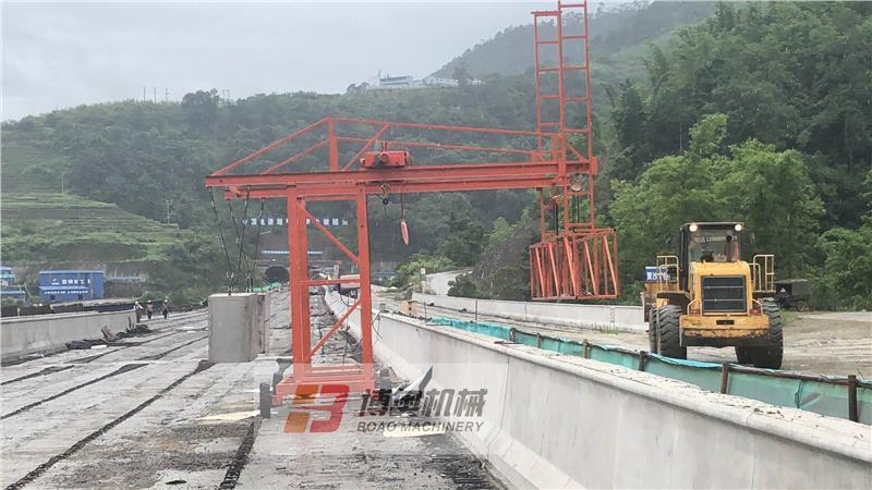 高架桥护栏模板台车