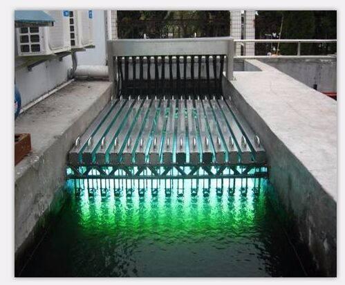 國潤明渠式紫外線消毒器水處理設備污水處理