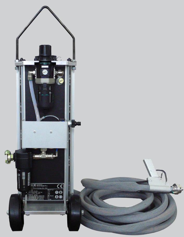 【無塵噴砂機】自動循環回收式噴砂機的構成