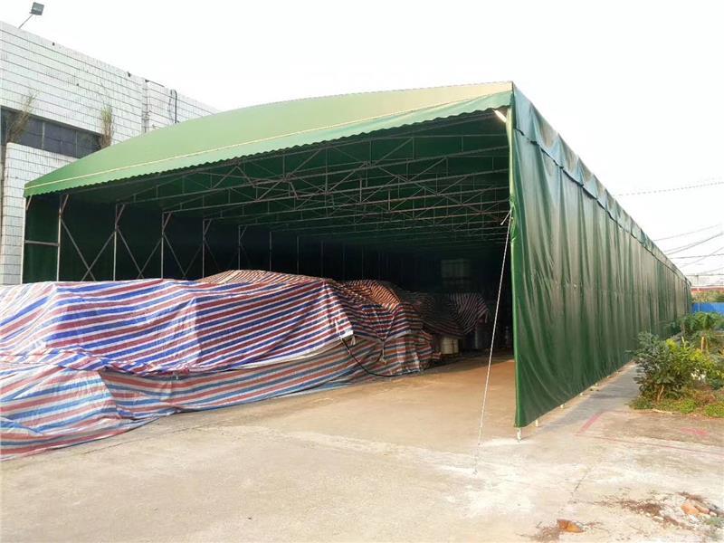 蚌埠工厂推拉篷
