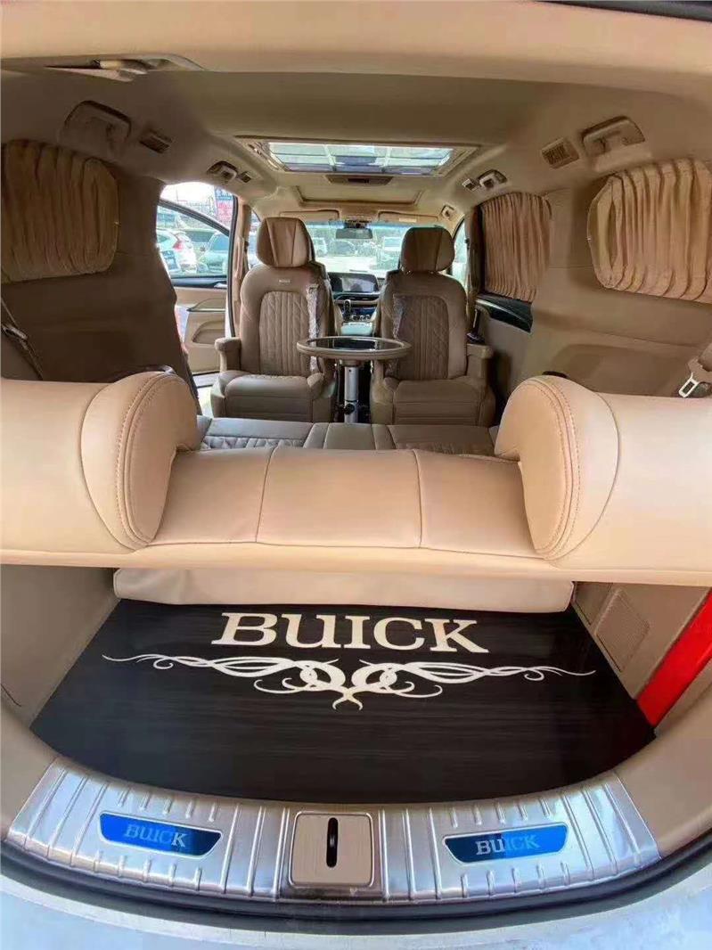 青浦别克GL8改装升级航空座椅木地板