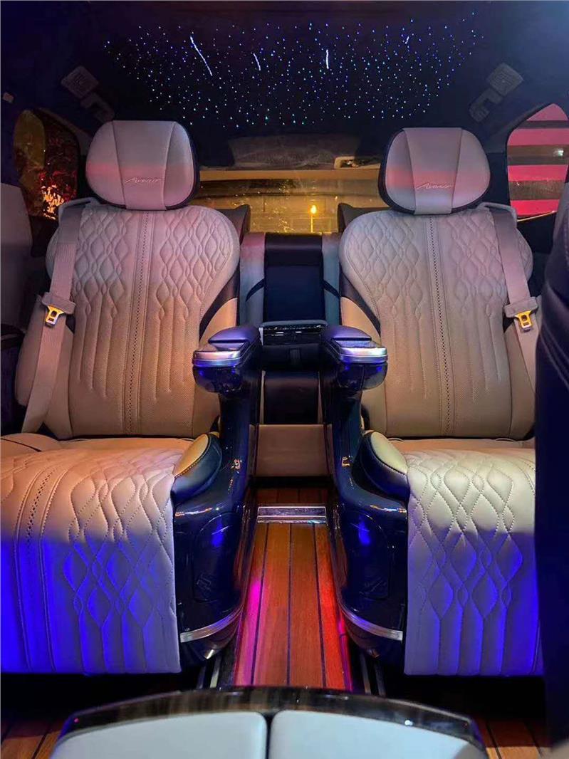 松江别克GL8 28T改装升级航空座椅木地板
