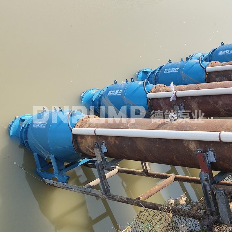 天津雪橇式潜水轴流泵参数