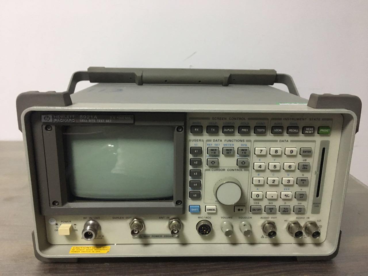 蘇州收購閑置綜合測試儀Agilent8921A