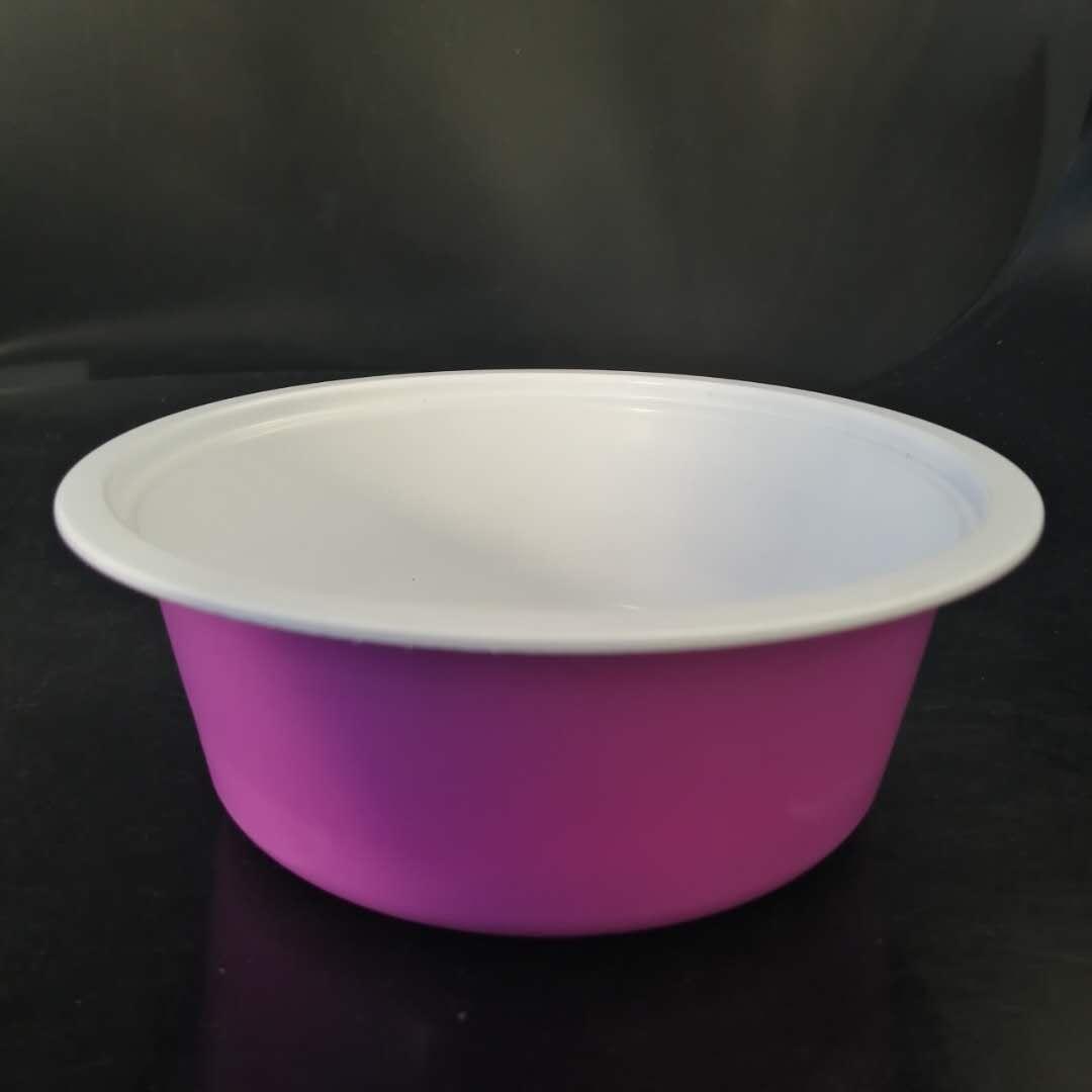 廠家直供一次性pp塑料碗 方便面碗 封口塑料包裝碗