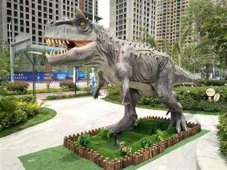 恐龙模型图片