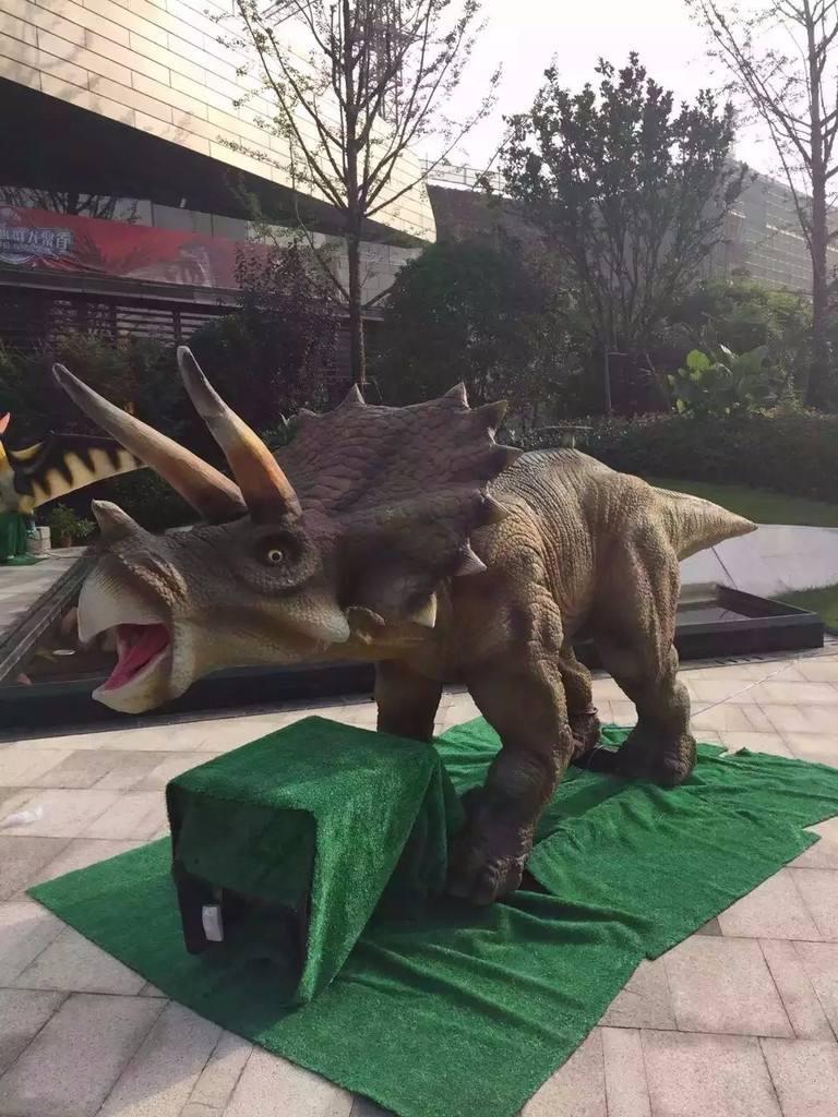 仿真恐龙模型制作
