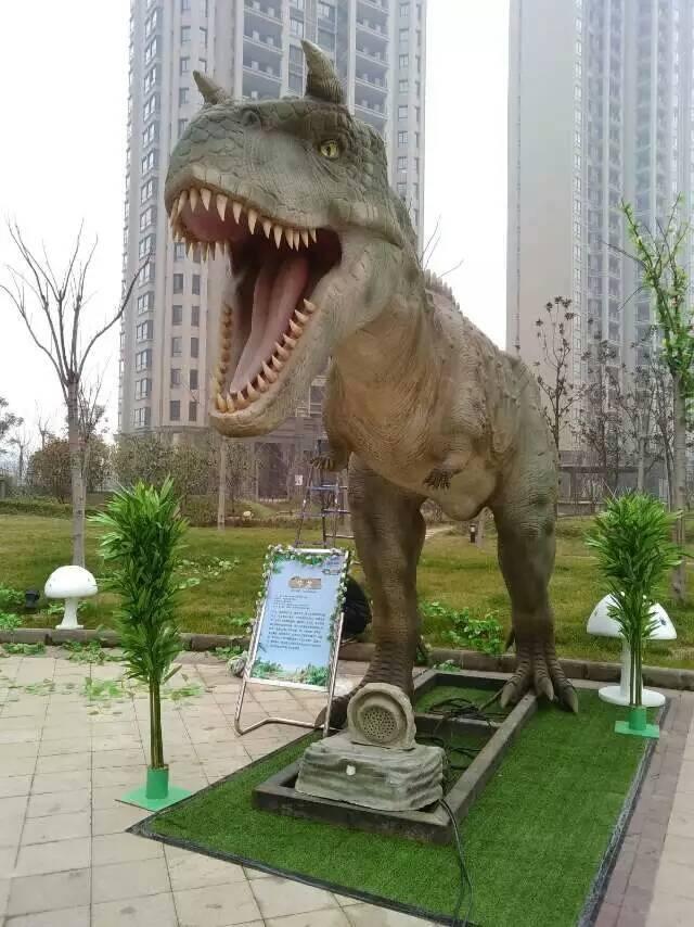 二手恐龙模型制作