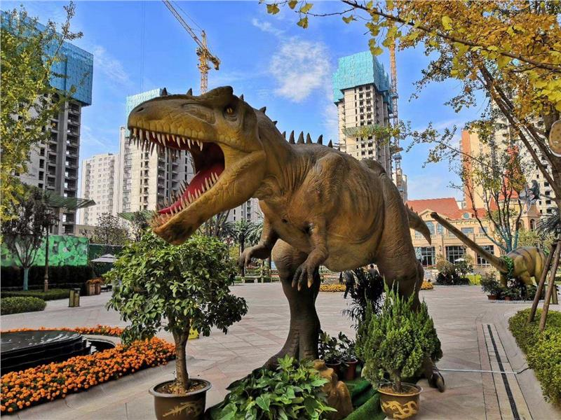 大型恐龙模型制作