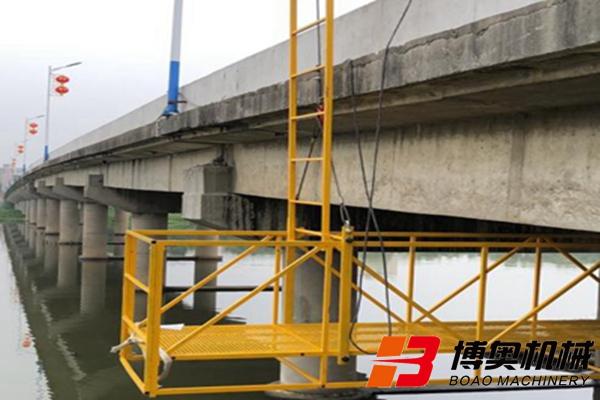 桥梁维修加固升降吊篮车