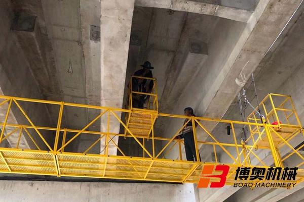 桥检车施工