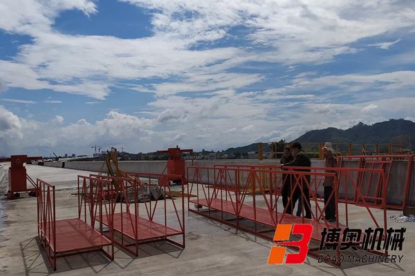 j桁架式桥梁检测作业车安全