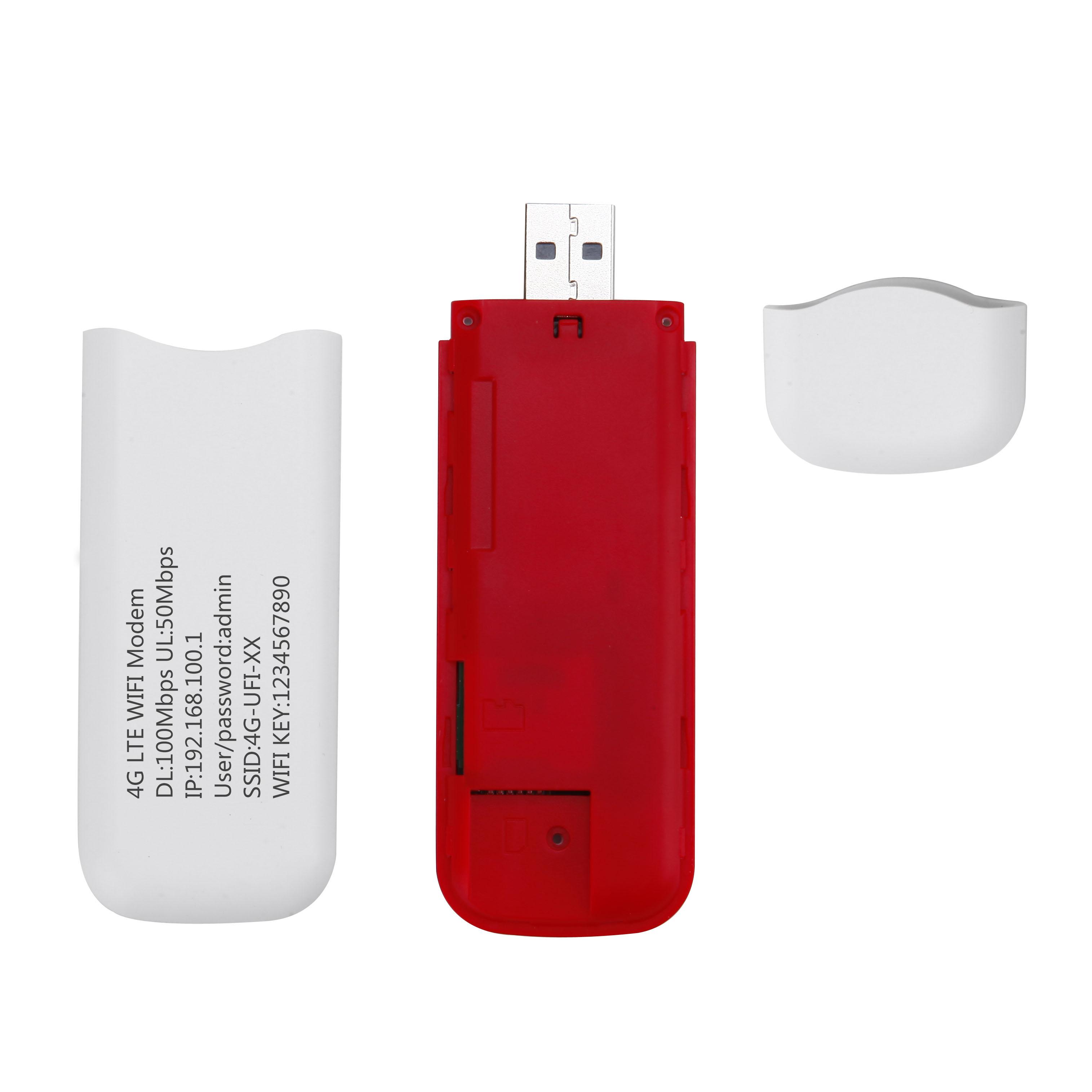 HW-L100F 即插即用4G LTE USB 路由器