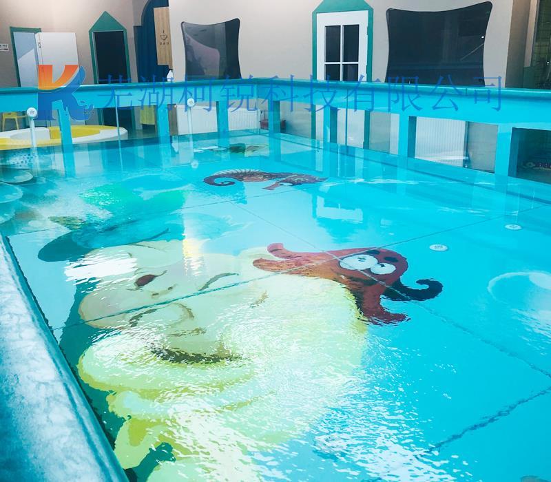 宝宝钢化玻璃游泳池定制 宝宝游泳池 游泳池