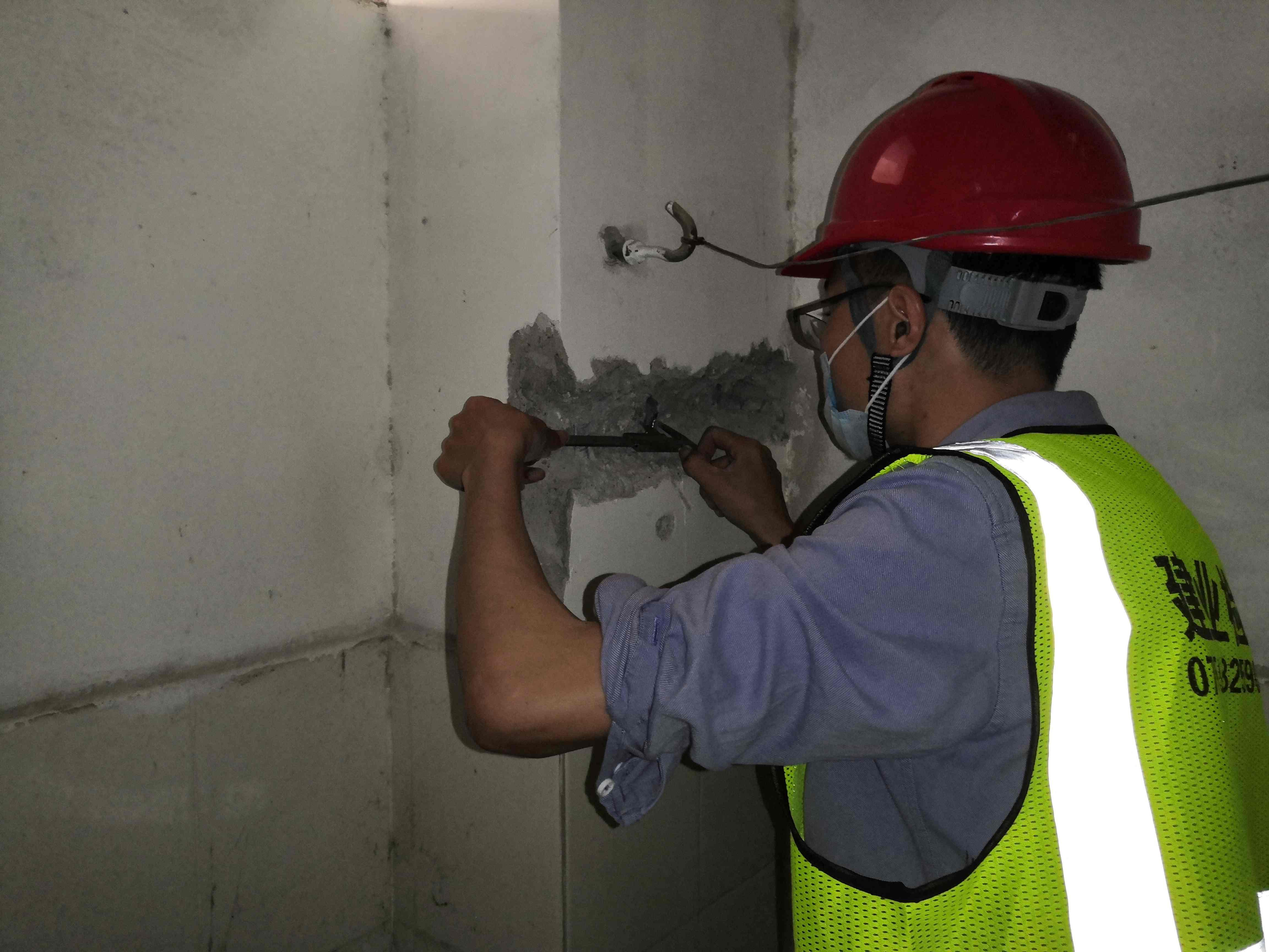 金平围墙检测部门