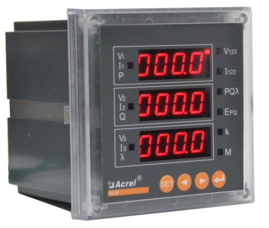安科瑞96外型多功能可編輯智能儀表ACR220E