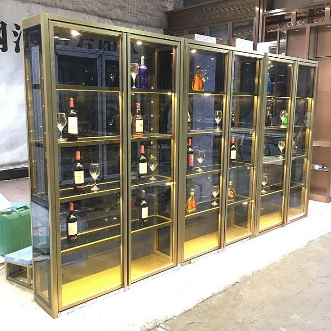 柳州不锈钢酒柜价格