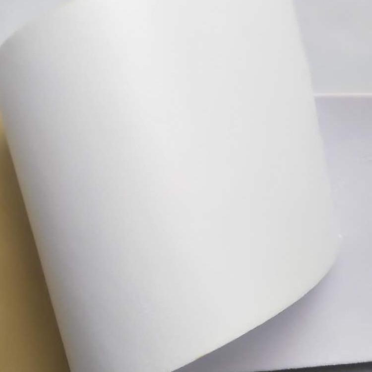 背胶黑色绒布 透气背胶白色无纺布 100g背胶白色无纺布