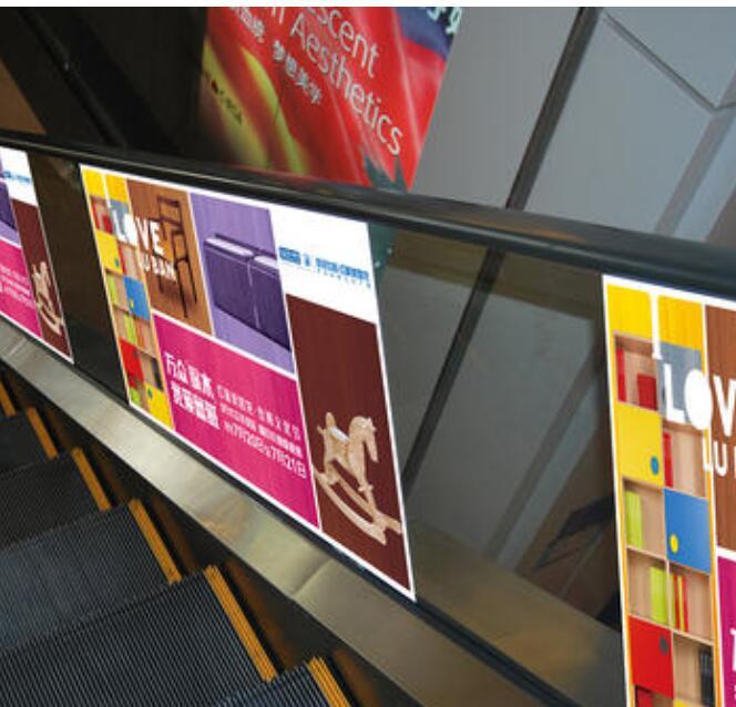 新鄉電梯貼制作公司 電梯廣告門貼制作 多年經驗