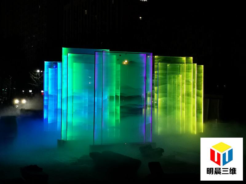 西安個性玻璃激光內雕工藝加工