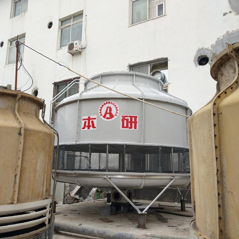 BY-R-500T 南通圓形冷卻塔 圓形冷卻塔工作原理