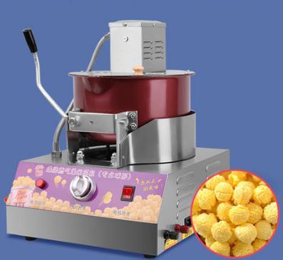 扬州自动爆米花机教做爆米花