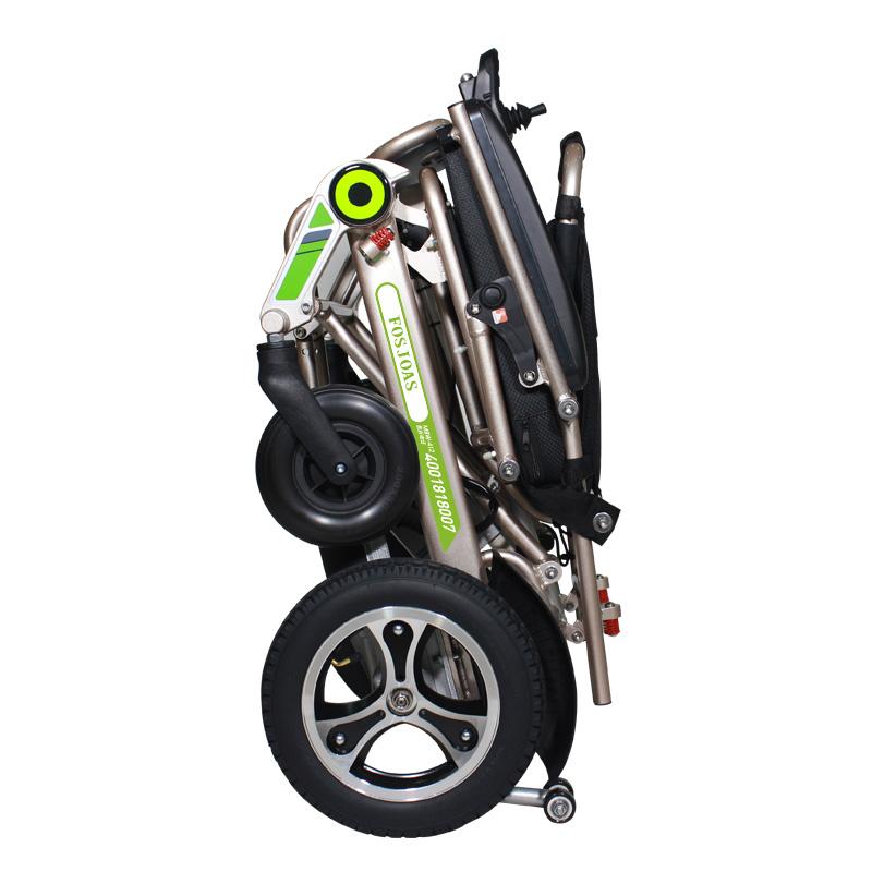 济南轻便折叠电动轮椅