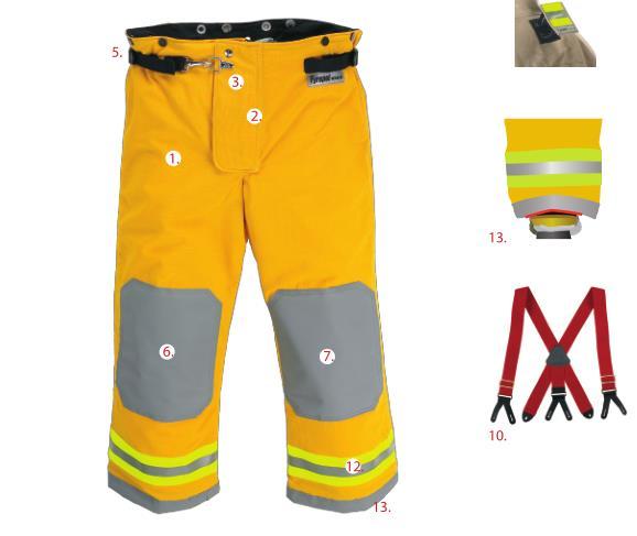 安徽雷克兰欧标CEOSX1000消防服身体防护