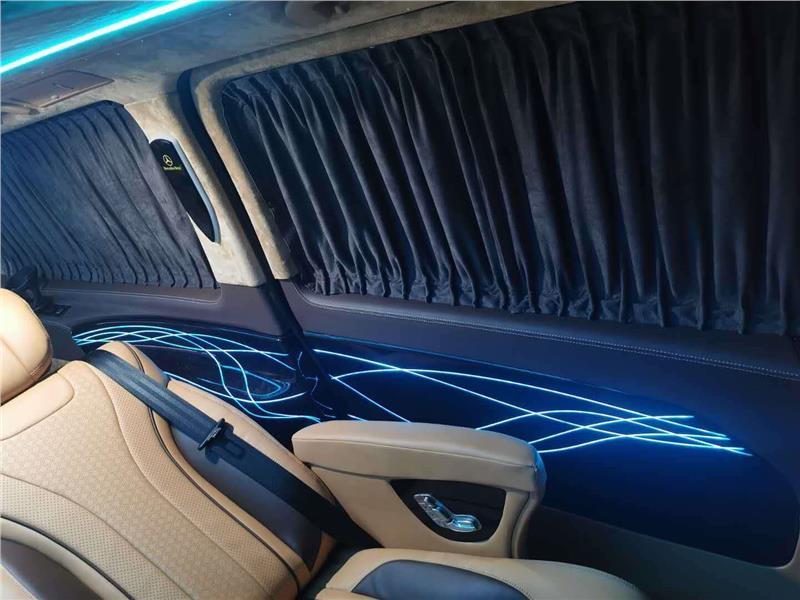 上海奔驰商务车改装实木地板印花地板