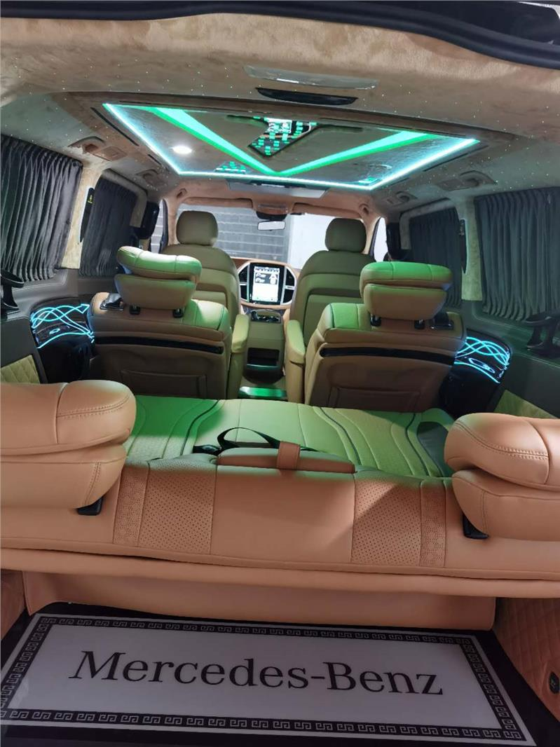 南京奔驰商务车正副驾座椅改电动