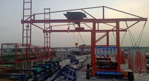 博奥防撞墙模板施工台车为桥梁建设再填新动能