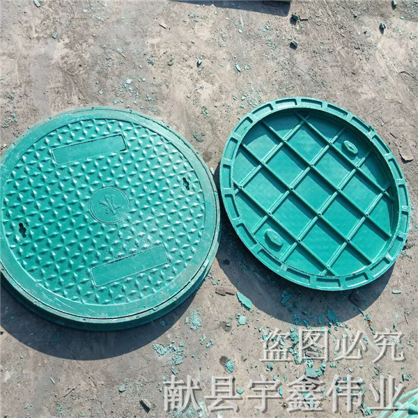 大同草盆井蓋——樹脂復合井蓋廠家