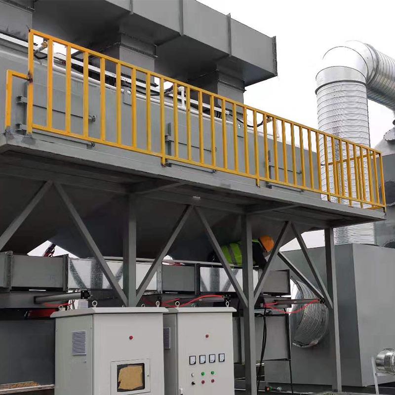 宣城活性炭箱 烤漆房上加活性炭箱