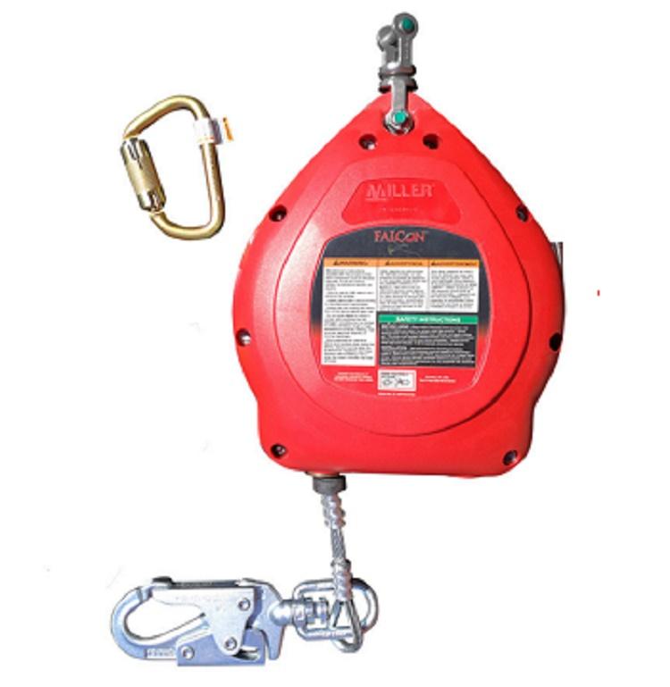 广州代尔塔505101镀锌钢缆10米防坠器