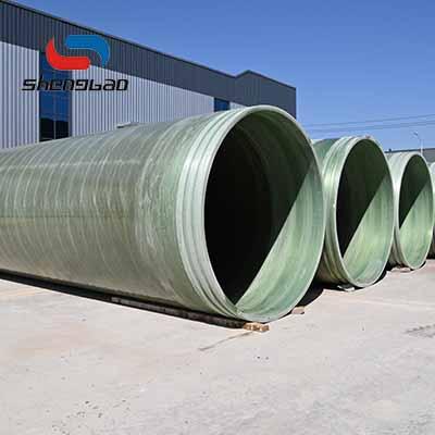 山東盛寶 玻璃鋼纏繞管道 玻璃鋼污水排水管