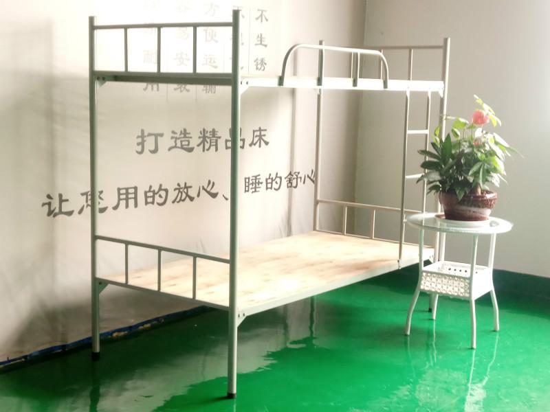 郴州雙層鐵床永固無縫管雙人鐵床