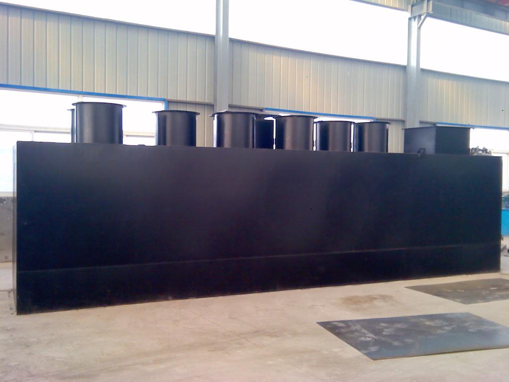 自貢小型污水處理設備生產廠家 出水水質達標