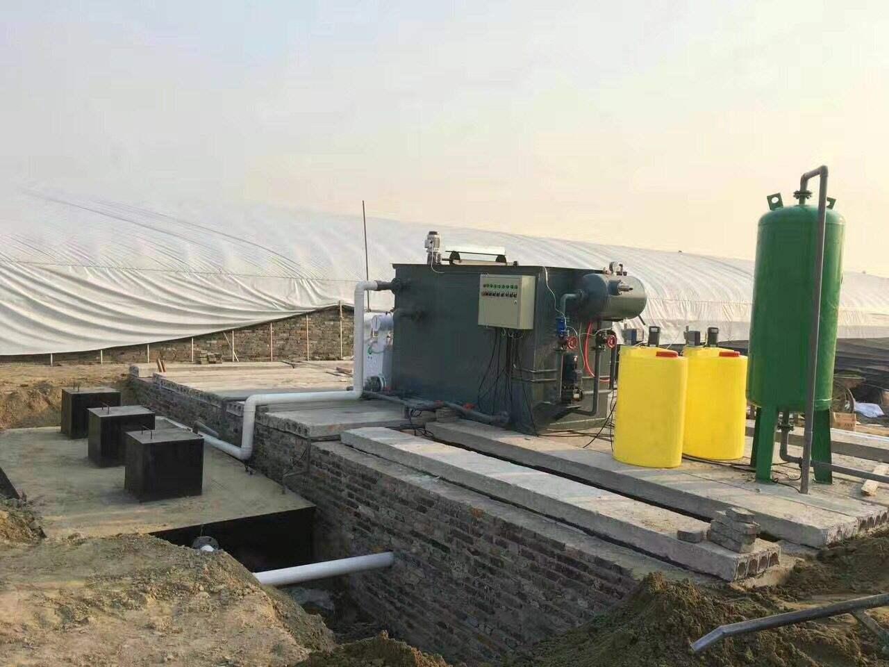 銅仁地埋式污水處理設備 水質確保驗收合格