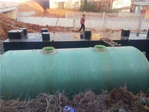 隨州小型污水處理設備 水質確保驗收合格